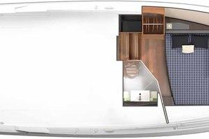 38' Tiara 38 LS 2019 Deck Plan