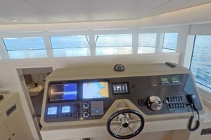54' Silent-Yachts Silent 55 2019 Salon, Galley, Helm