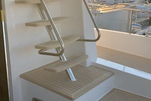 54' Silent-Yachts Silent 55 2019 Staircase To Bridge