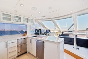 76' Lazzara  2012 Galley