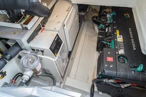 51' Beneteau 49 GT 2014 Engine Room Access