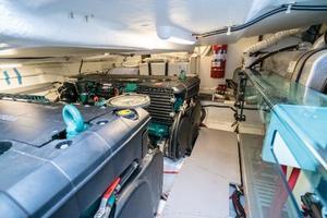 51' Beneteau 49 GT 2014 Engine Room 3