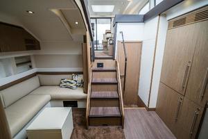 51' Beneteau 49 GT 2014 Lower Salon Facing Aft