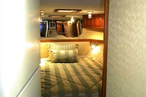 43' Post 43 Sport Fisherman 1989 Galley to Master Stateroom