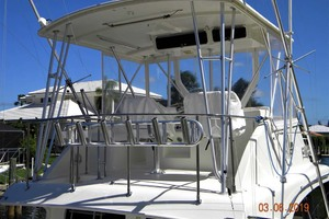 43' Post 43 Sport Fisherman 1989 Dockside Flybridge