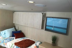 105' Broward Custom Extended 1990 Starboard Twin Pullman