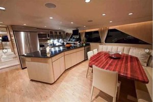 105' Broward Custom Extended 1990 Galley