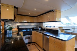 65' Neptunus Flybridge Motor Yacht 2000 Galley