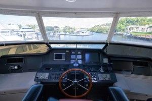65' Neptunus Flybridge Motor Yacht 2000 Helm