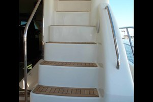 62' Neptunus Sedan Cruiser 2008 Easy Flybridge Stairs