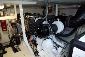 62' Neptunus Sedan Cruiser 2008 Starboard Engine