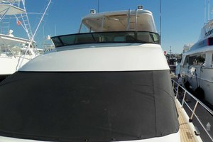 62' Neptunus Sedan Cruiser 2008 Textilene Windshield Cover