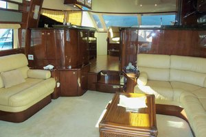 62' Neptunus Sedan Cruiser 2008 Salon Looking Forward