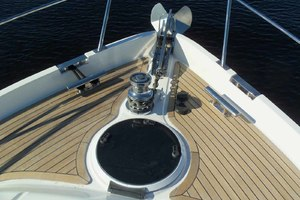 62' Neptunus Sedan Cruiser 2008 Windlass Detail