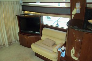 62' Neptunus Sedan Cruiser 2008 SalonPortsideLookingAft