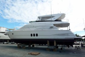 62' Neptunus Sedan Cruiser 2008 March 2019 Yard Visit