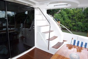 62' Neptunus Sedan Cruiser 2008 Aft Deck