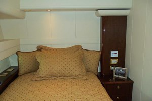 62' Neptunus Sedan Cruiser 2008 Starboard Guest Cabin Looking Aft