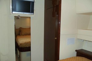 62' Neptunus Sedan Cruiser 2008 Starboard Guest Cabin Looking Forward