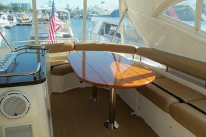 62' Neptunus Sedan Cruiser 2008 Dining Table