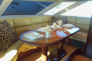 62' Neptunus Sedan Cruiser 2008 Galley Dining Area