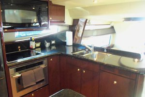 62' Neptunus Sedan Cruiser 2008 Galley Looking Aft