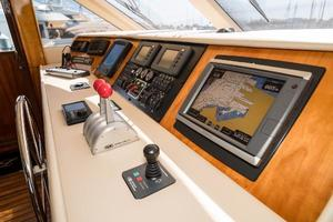 75' Hatteras 75 Motor Yacht 2004 Electronics