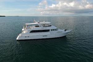 75' Hatteras 75 Motor Yacht 2004 Starboard Side