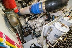 75' Hatteras 75 Motor Yacht 2004 Engine Room 6