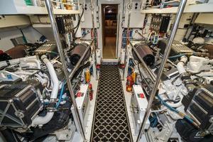 75' Hatteras 75 Motor Yacht 2004 Engine Room 1