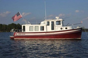 32' Nordic Tugs 32 1999 Starboard View