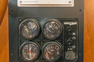 56' Symbol 56 Pilothouse Custom 2010 Generator Control Panel