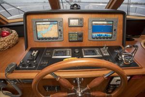 56' Symbol 56 Pilothouse Custom 2010 Lower Helm