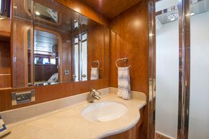 56' Symbol 56 Pilothouse Custom 2010 Shower Door