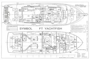 56' Symbol 56 Pilothouse Custom 2010 56 Symbol YF Layout