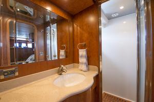 56' Symbol 56 Pilothouse Custom 2010 Master Bath & Shower