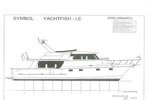 56' Symbol 56 Pilothouse Custom 2010 56 Symbol YF Lines