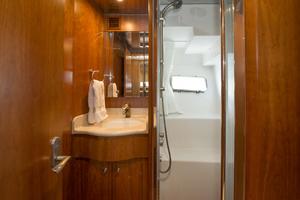 56' Symbol 56 Pilothouse Custom 2010 Guest Bath& Shower