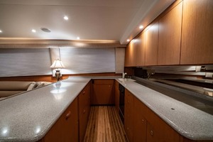 61' Viking Convertible 2002 Galley