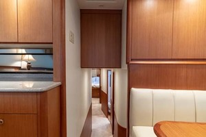 61' Viking Convertible 2002 Hallway to Staterooms