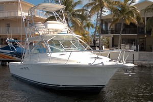 33' Rampage Express 2007 43 Starboard Profile