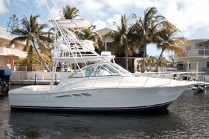 33' Rampage Express 2007 1 Starboard Profile