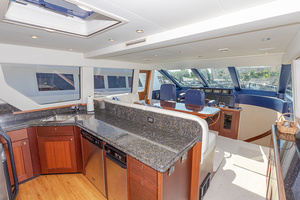 65' Pacific Mariner Pa 65 2006 Galley