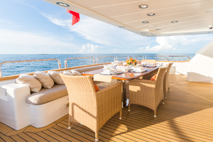 100' Benetti Tradition 100 2007 Aft Deck