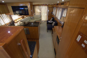 57' Jefferson  2003 View from the Pilothouse