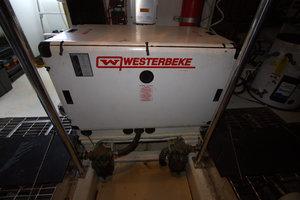 57' Jefferson  2003 Westerbeke Generator
