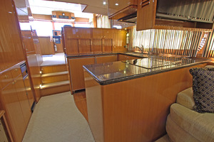57' Jefferson  2003 On-Deck Galley
