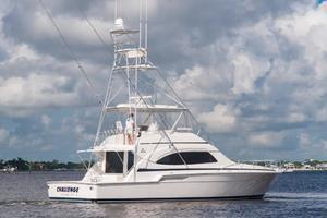 51' Bertram Sport Fisherman 2000 Challenge_Stern Profile1