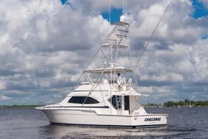 51' Bertram Sport Fisherman 2000 Challenge_Stern Profile5
