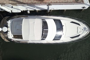 50' Marquis 500 Sport Bridge 2011 Aerial View